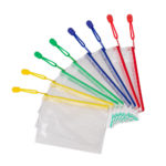 Zipper Bags A6 - blue - a6 - 8 - pvc