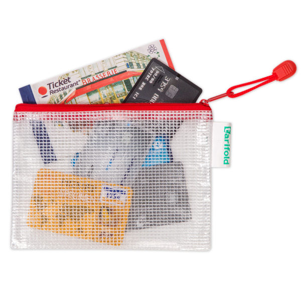 Zipper Bags A6 assorted