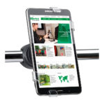 X-Tend Pole Mount Tablet Holder - black - 1 - metal - france