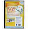 Adhesive Display Frames - Rigid - black - a4 - 1 - france