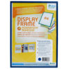 Adhesive Display Frames - Rigid - blue - a5 - 1 - france