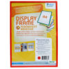 Adhesive Display Frames - Rigid - red - a4 - 1 - france