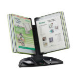 Tarifold Black Line Desk Set, 10 black/green pockets - black-green - us-us - 10-us - france-us