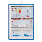 Hanging Copy Holder, blue - 5 pcs. - blue-us - us-us - 5-us - france-us