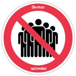 Tarifold Sticker Group formation prohibited