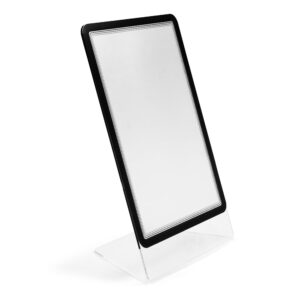 Tarifold Crystal L-shape sign holder with Magneto frame display pocket